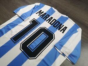 [Retro] - Argentina International Club Home World Champion 1986 10 MARADONA XXL