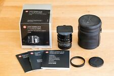 Leica Summilux - 35mm ASPH FLE Lente, M negro, modelo 11663