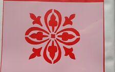 Schablonen 1002 Vintage-Stanzschablone Flex- Schablone Shabby Stencils