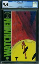 Watchmen #1 Cgc 9.4 Dc 1986 Alan Moore! Movie! Classic! White Pages! H5 348 cm