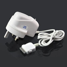 New UK Mains Travel Home Charger Plug For Apple iPhone 4 4G 4S 3G 3GS iPod Touch