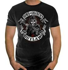 Sons of Anarchy Men's Outlaw Banner Graphic T-Shirt - XXL