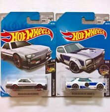 NEW 2x Hot Wheels Nissan Skyline RS KDR30 1/10 | H/T 2000GT-X 9/10 Long Card
