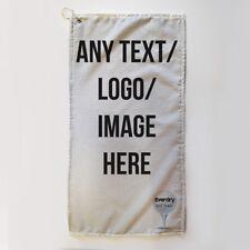 Golf Towel Everdry Microfiber Plus - Add Any Text Logo Image - 63x30cm