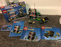 LEGO 6566 Bank and Security Van (1997) COMPLETE BOXED INSTRUCTIONS