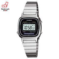 New CASIO Standard Digital Watch Silver/Black LA-670WA-1JF Women's From JPN