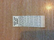 k1-1 ephemera 1961 football match report craxfords 3 real madrid 2 nash