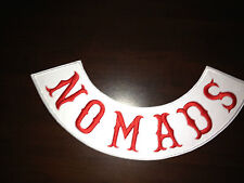 Nomads Banner PATCH RICAMATE BACK PATCH NUOVO 40x9cm MC, 81, Angels