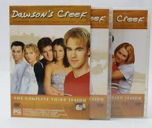 USED  Dawson's Creek - 6 Disc The Complete Third Season Region 4 DVD