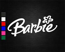 BARBIE LOGO #1 VINYL DECAL STICKER CRAFTS/CAR/VAN/WALL/DOOR/LAPTOP/TABLET/WINDOW