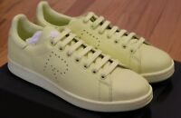 Raf Simons x Adidas Stan Smith Yellow Sneakers Brand New in Box Size 7.5 8