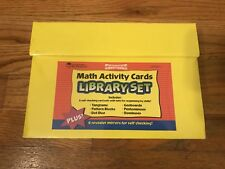 Learning Resources Math Activity Cards Library Set NEW
