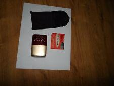 VtgRed/ Gold, Jon-E Hand Warmer, Pouch, Manual, Aladdin Mfg Co. Minn.