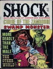 Shock Vol. 1 #2 Baily Zombie Blood Transfusion 1969 Stanley Horror Mag Wolverton