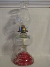 Eagle P & A Mfg Co. Glass Oil Lantern Lamp & Printed Cinco De Mayo Fiesta Shade