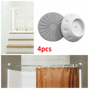 4pcs/set Gate Protector Safety Wall Guard Protectors Door For Baby Dogs Gates