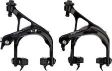 Tektro Tk-R741 Road Bike Dual Pivot Brake Calipers Front & Rear Set Black
