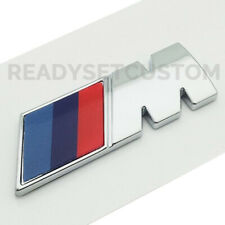 Pair of M Sport Side Panel Badges for BMW - M2 M3 M4 M5 M6 X5 X6 M8 DECAL