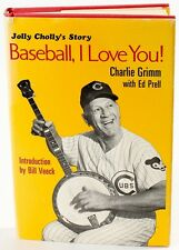 """Charlie Grimm Signed Vintage Book """"Jolly Cholly's Story: Baseball, I Love You"""""""