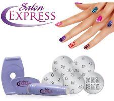 Salon Express Nail Art Stamping Kit/ Birthday Gift/ Diwali Gift