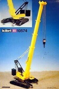 Kibri 10574 1:87 Liebherr LTR 1800 Crane