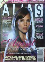 JENNIFER GARNER 2005 ALIAS Magazine YEARBOOK / MIA MAESTRO / MICHAEL VARTAN