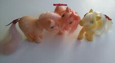G1 My Little Pony Lot of 3 CUSTOM BAITS Vintage MLP 1980's