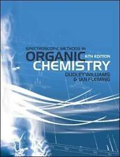 Spectroscopic Methods in Organic Chemistry by Ian Fleming, Dudley Williams...