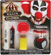 Killer Clown Makeup Kit, Halloween Accessory, Fun World