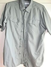 CAMISA SHIRT MANGA CORTA COLUMBIA TALLA SIZE S PERFECT CONDITION