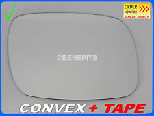 Wing Mirror Glass VOLKSWAGEN TOUAREG 2002-2006 CONVEX + TAPE Right Side /1037