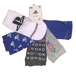 5 Pairs Boys Playstation PS Trainer Liner Socks