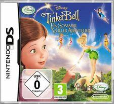 Nintendo DS 3DS TINKERBELL 3 EIN SOMMER VOLLER ABENTEUER DEUTSCH GuterZust.