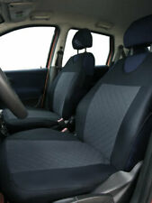 2 GREY PATTERN FRONT VEST CAR SEAT COVERS PROTECTORS FOR MINI PACEMAN