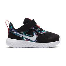 Nike Revolution 5 (TDV) CU4620-001 Black White Camo Baby Toddler Boy's Shoes NIB