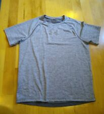 Men's Under Armour Athletic Shirt Gray Size Large