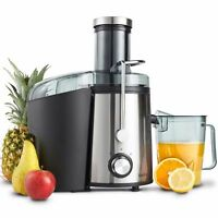 VonShef Premium Juicer Machine Electric Whole Fruit/Vegetable Juice Maker 800W