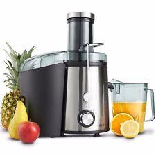 VonShef Premium Juicer Machine Electric Whole Fruit/Vegetable Juice Maker 800W