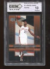 Lebron James RC 2003-04 UD Exclusives #1 HOF Rookie GEM Elite 10 Pristine
