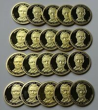2010-S Abraham Lincoln Proof Presidential Dollars - Roll of 20 Deep Cameo Coins!