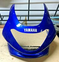 97 - 2007 Yamaha YZF 600 Thundercat Front Upper Headlight Fairing Cowl CRACKED