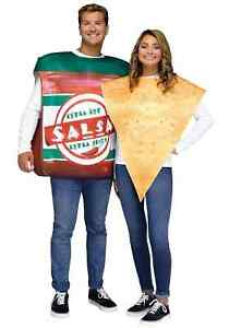 Adult Chips and Salsa Couple's Costume