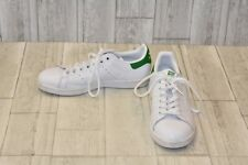 Adidas Stan Smith Original Shoes - Men's Size 7, Core White/Green