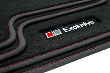 Exclusive Line Floor Mats Vw Golf 5 6 Scirocco 3 Saloon Estate Variant Gti