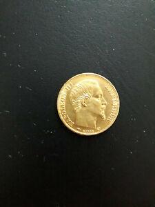 20 Francs Or Napoleon III 1860 A
