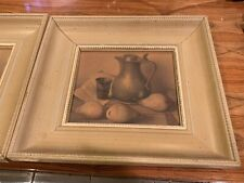 Vintage 1950s Reproduction Print of Still Life By Dutch Artist, Henk Bos