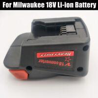 For Milwaukee m18 18V Li-ion Battery to milwaukee V18 Battery Adapter Converter