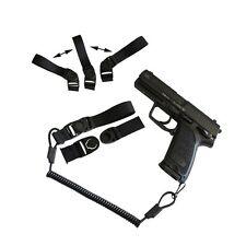 Lanyard - Black - Tactical Heavy Duty New Handgun