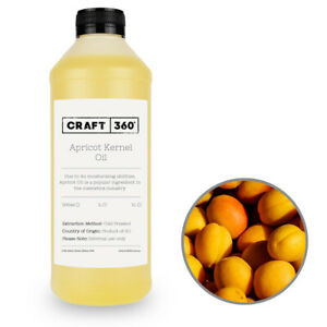 PURE APRICOT KERNEL OIL Cold Pressed 100% Natural Cosmetic Grade Base Carrier