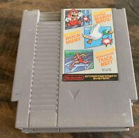 Super Mario Bros. / Duck Hunt / World Class Track Meet for Nintendo NES